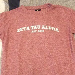 Zeta Tau Alpha Boxercraft Sweatshirt